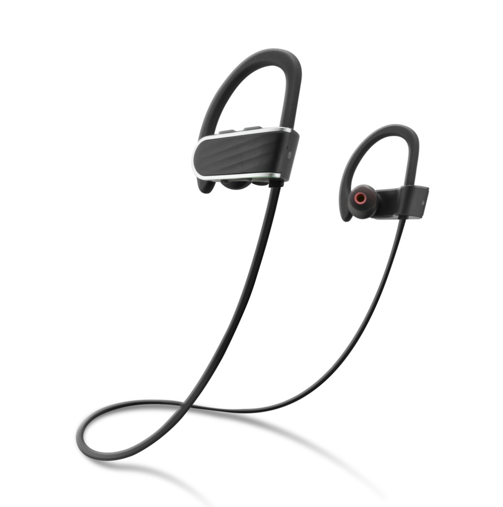 Wireless Bluetooth Earphones Stereo Sport Earbuds for Apple IPhone4 5 6 IPod Ipad--RU13