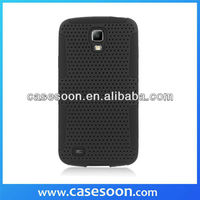 Mesh Hard Slim Hybrid Rubber Durable Case for Samsung Galaxy S 4 Mini