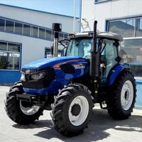 hot selling 150hp big farm tractor with Weichai brand engine