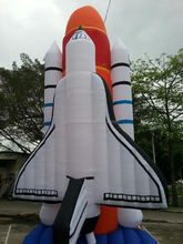Hot sale inflatable space shuttle,giant inflatable rocket,Inflatable aerospaceplane