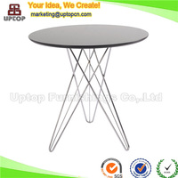 (SP-GT142) Reception room small round office meeting table