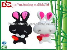 Car interior accessory place adorn lovely love rabbit with wonderful design