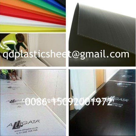 Plastic Polypropylene Correx Sheet for Floor Protection