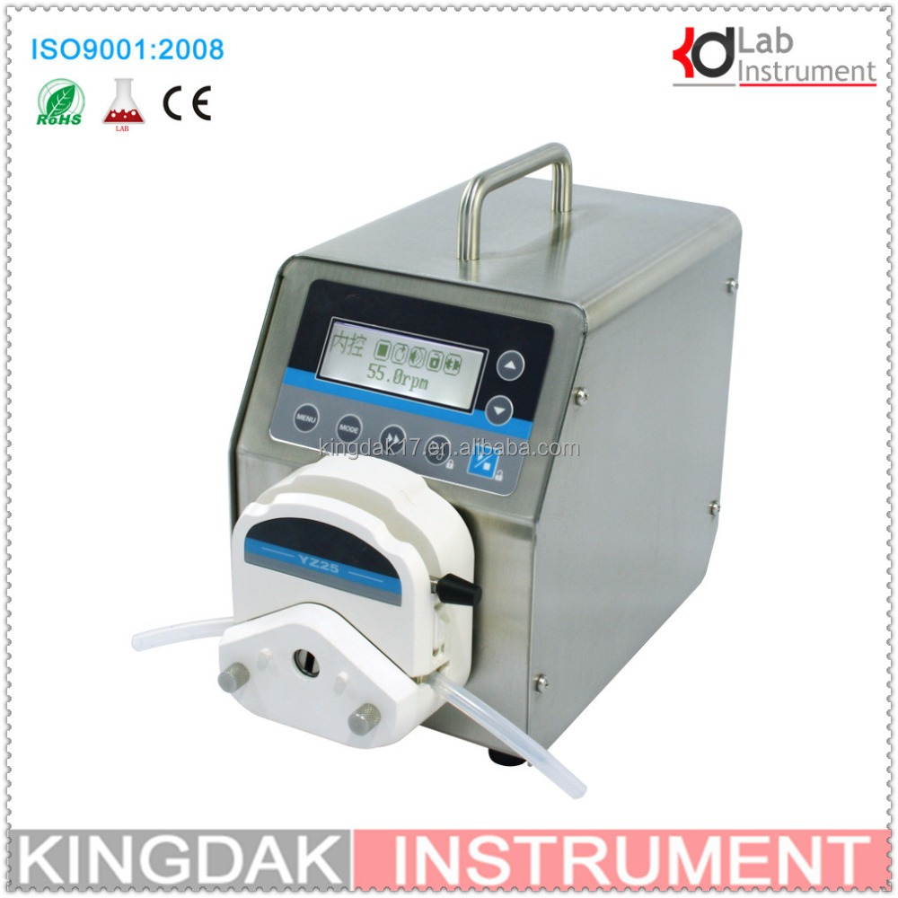KBT600S/YZ15 good quality peristaltic pumps filling Pump/Led digital display High flow Precise variable speed peristaltic pump f