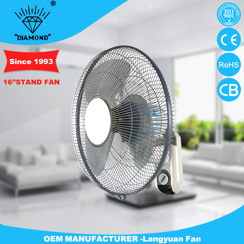 Brand new 16inch quiet wall fan electric size with CE certificate