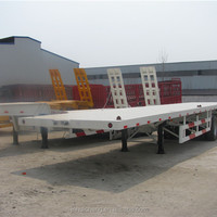 Widely Used 3 Axle Plat Trailer