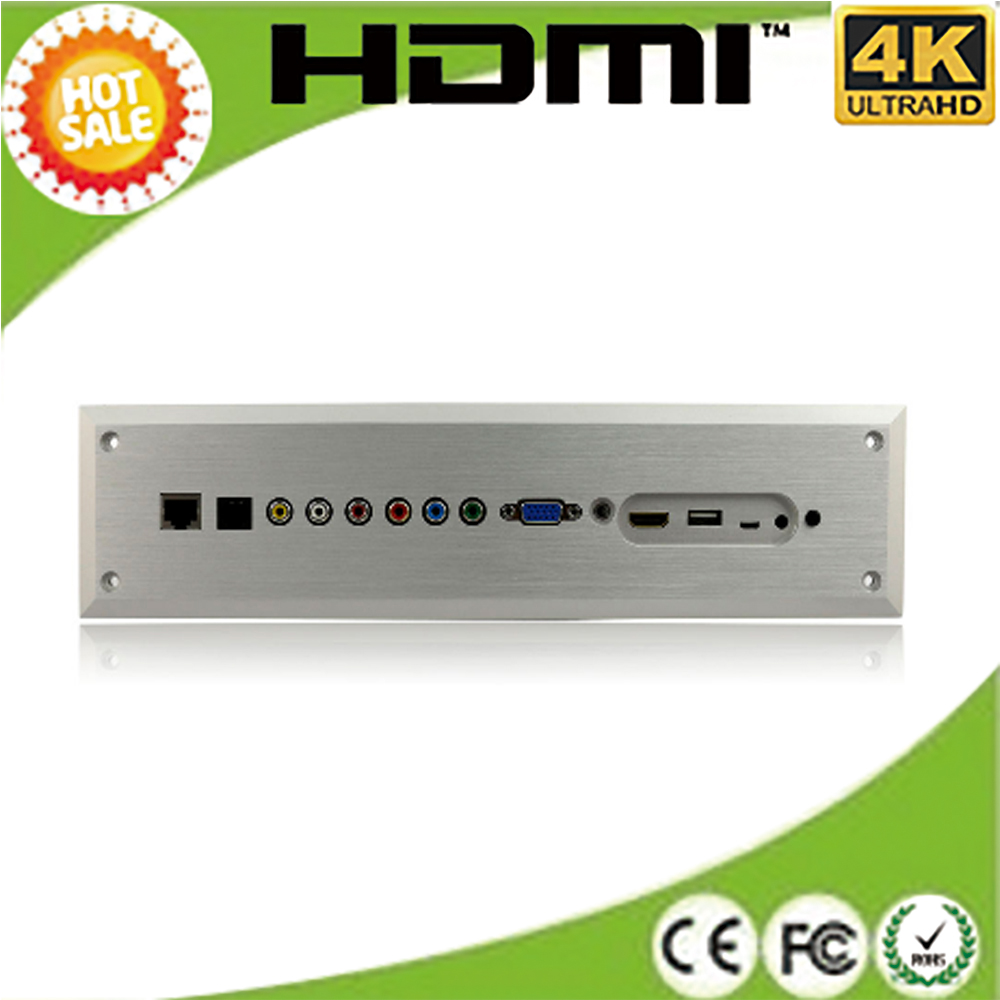 hdmi to vga converter 50hz support AV,VGA, YPBPR,HDMI,MHL RJ45, support 1080p 4K