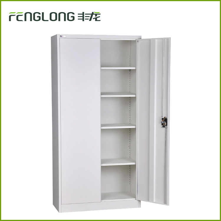 modern school Furniture Knock Down double door Used Stainless Steel Cabinet Office Filing Cabinet Metal Storage Cabinets Sale