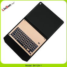 "best-selling New For Apple iPad Pro 12.9"" PU Leather Case Cover With Flexible Bluetooth Keyboard"
