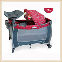 Wholesale cheap baby playpen plastic playpen with canopy