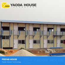 Construction Labor Camp Steel Structure Frame Sandwich Panel Mobile Prefab Worker Camp House K Prefab Modular Houses