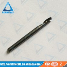 1 flute end mill Tungsten carbide Single Blade Cutter