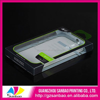 printed small colourful plastic packaging boxes with lid for phone case