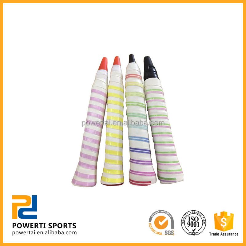 OEM Colorful Wrap Racket PU Tennis Overgrip