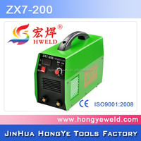 portable welding machine price ZX7-200 mma stick tig mig welder