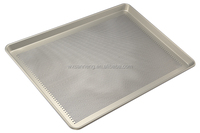 Perforated Alusteel Baking Pan For Oven