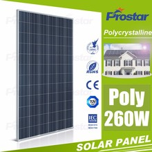 Perlight Hot Seller High Efficency A Grade Poly 260W Solar Panel and Battery with Inmetro