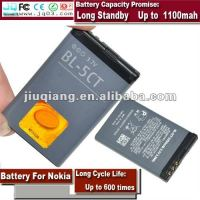 3.7v Standard BL-5CT Battery For Nokia 5220XM 6303C 6730C C3-01 C3-01m C5-00 C5-02 C6-01