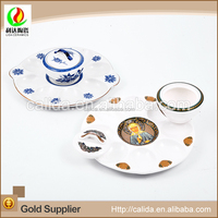 High quality good price commerical transport eco-friendly ceramic porcelain chicken eggs trays