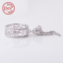 New Arrival Crystal Tassels Ring Korea Brand Fashion Rings tassel Romantic Baroque Jewelry
