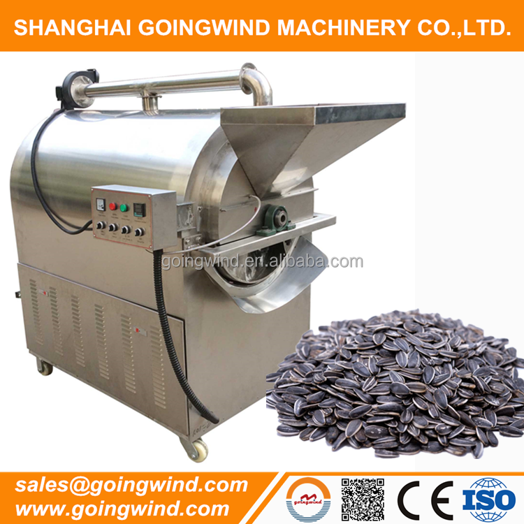 Stainless steel sunflower seeds roasting machines cheap price for sale
