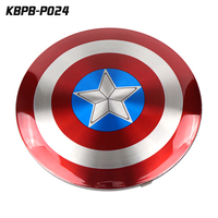 Electronic items captain america shield power bank 6800mah high quality phone charger