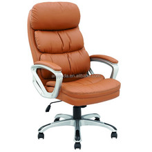 High back manager chair with thick padding on the back and seat