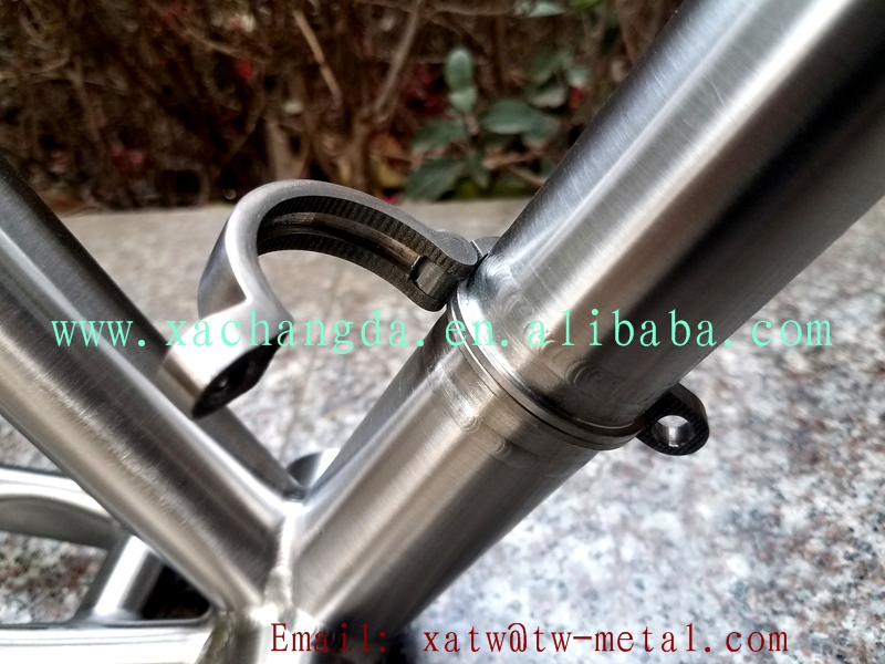 detachable titanium road bike frame titanium folding bike frame titanium folding bike frame
