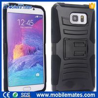 Belt Clip Holster Case for Samsung Galaxy Note 5, Heavy Duty Silicone+PC Shockproof Back Case with Kickstand for Note 5