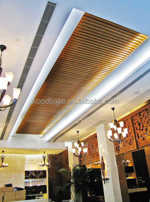 nice decorative wood suspended ceiling