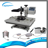 high quality 4 in 1 heat transfer machine 4 in 1 heat press machine ,can press cap,mug,plate and t shirt use one machine