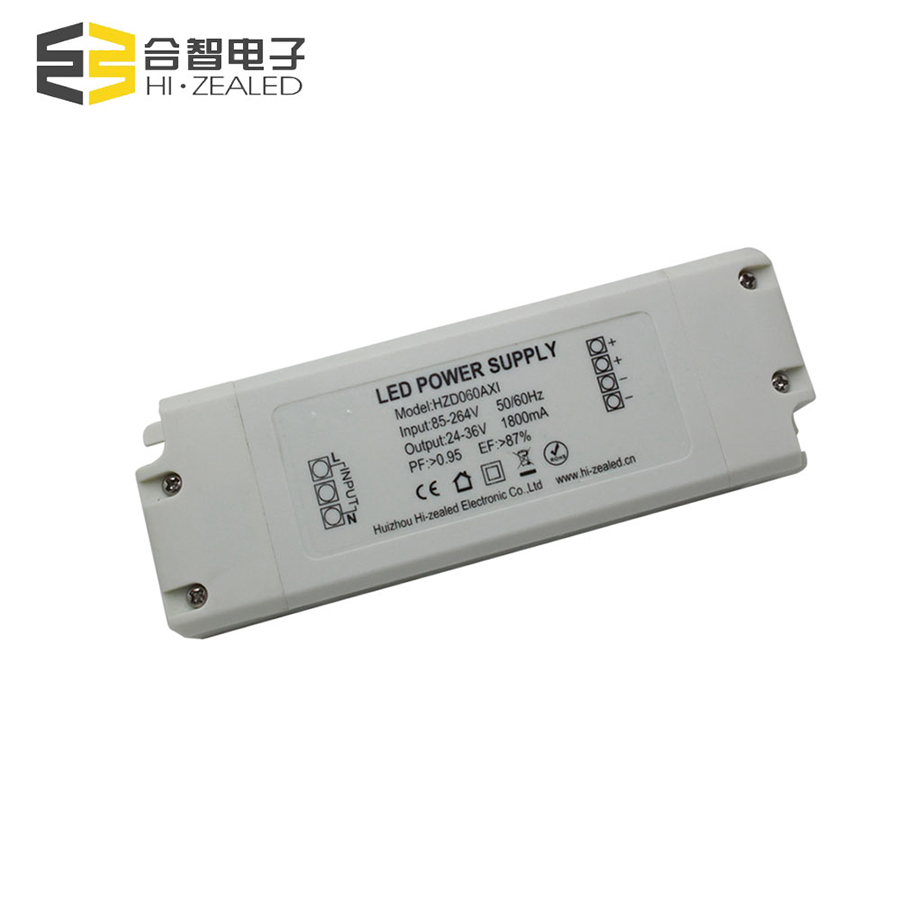 40w 60w 90w 1500ma 36v led power supply constant current led driver 900ma 100w