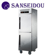 R8001-1 Commercial 2 doors stainless steel electric upright refrigerators for sale