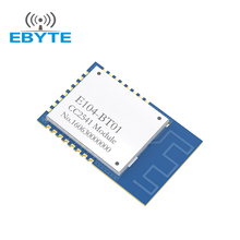 2017 low power CC2541 ibeacon Bluetooth BLE 4.0 E104-BT01 2.4GHz wireless Bluetooth Transceiver Module