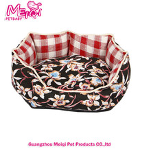 Best selling polyester washable dog bed china dog pet bed