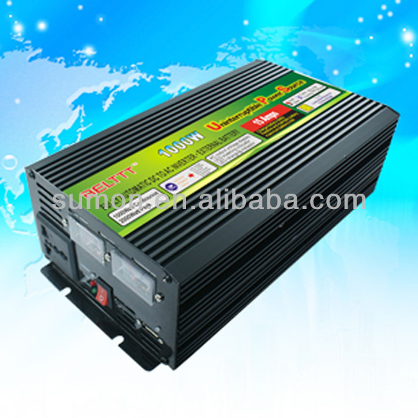 Best Home Power Inverter 1000va Dc12v Dc24v Lcd