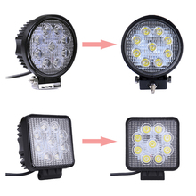Brand chip 27w spot flood truck led lighting accessories 27w high power off road light