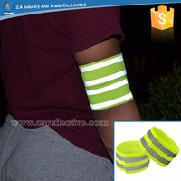 4*30cm Reflecting Armband,Reflective Elastic Wrist Band for Sports