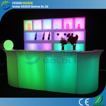 GLACS system sectional bar counter for party/nightclub portable bar counters