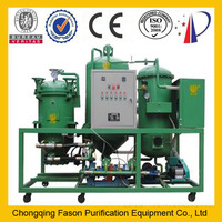 DTS series change black oil to yellow oil transformer oil purifier