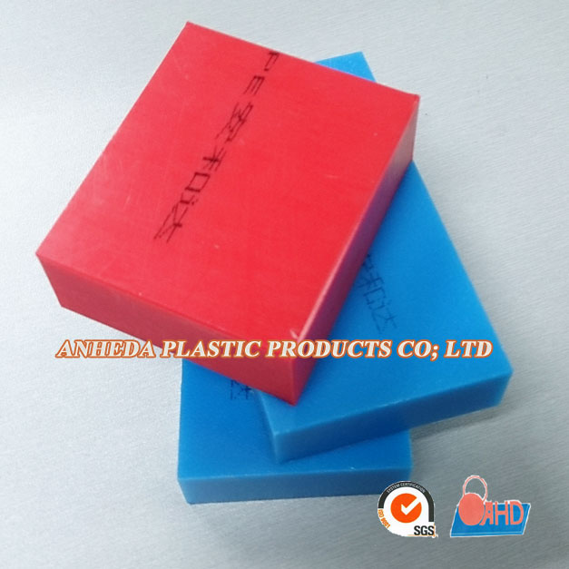 Embossed HDPE plastic sheet