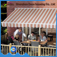 China factory cheap prices motorized waterproof Home Retractable Awnings for balcony/patio