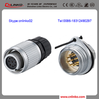 New M16 Water Proof Cable Connector For machinery equipment