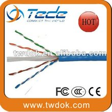 China manufacturer Tede utp/ftp cat 6a lan cable
