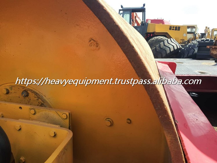 12 ton Double drive Sweden Original used Dynapac CA251D tandem roller