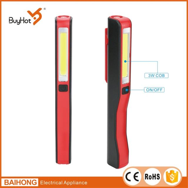 Hot selling best price Pocket revolved Clip Rechargeable flashlight torch Pen led work light
