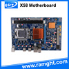 Reliable supplier dual channel lga1366 x58 computer motherboards and processors