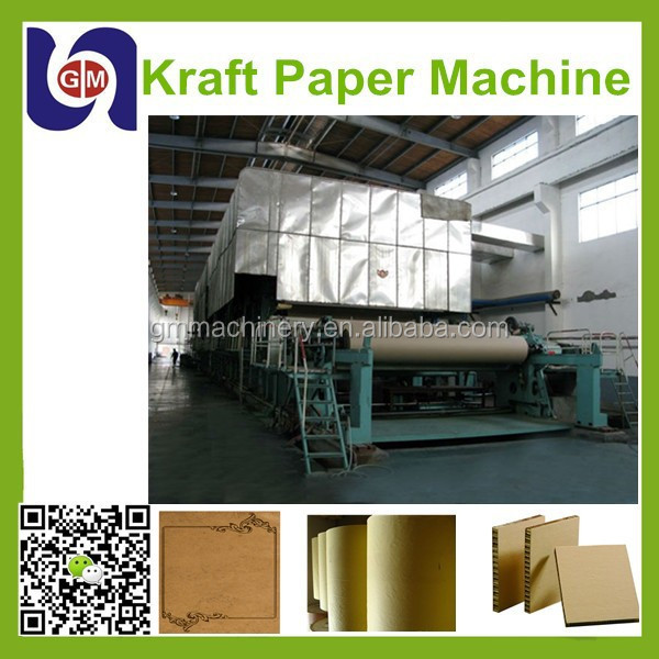 2880mm craft paper machine,kraft paper making machine,white card paper making machine stock for sale
