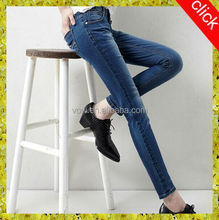 latest washed skinny american women jeans,plus size endurable denim jeans customized different sizes