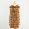 Hot Selling Fashionable Women Winter Medium Length Real Fox Fur Vest